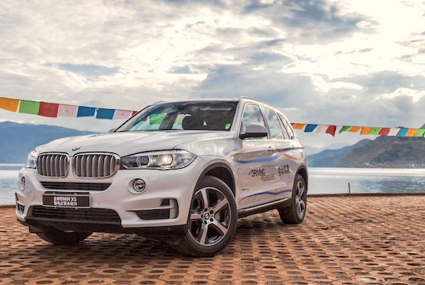 BMW X5 China February 2018. Picture Courtesy Auto.ifeng.com