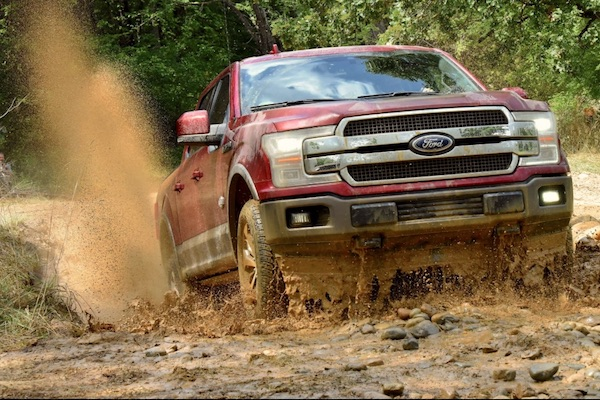 Ford F Series USA 2017. Picture Courtesy Caranddriver.com
