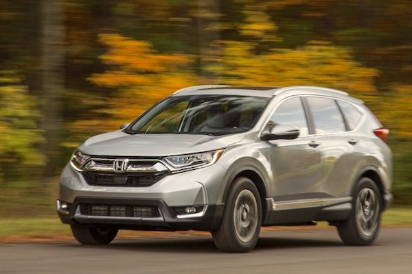 Honda CR V USA June 2017. Picture Courtesy Caranddriver.com
