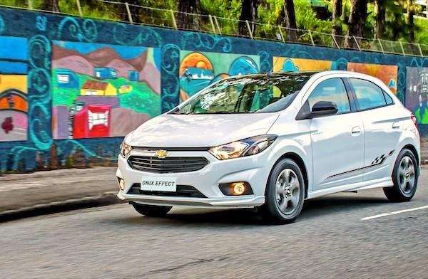 Chevrolet Onix Brazil 2017