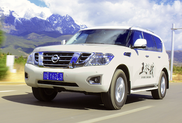 Nissan Patrol China January 2018. Picture Xcar.com.cn