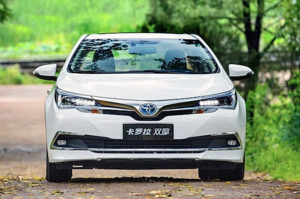 Toyota Corolla China May 2018. Picture Auto.sohu.com